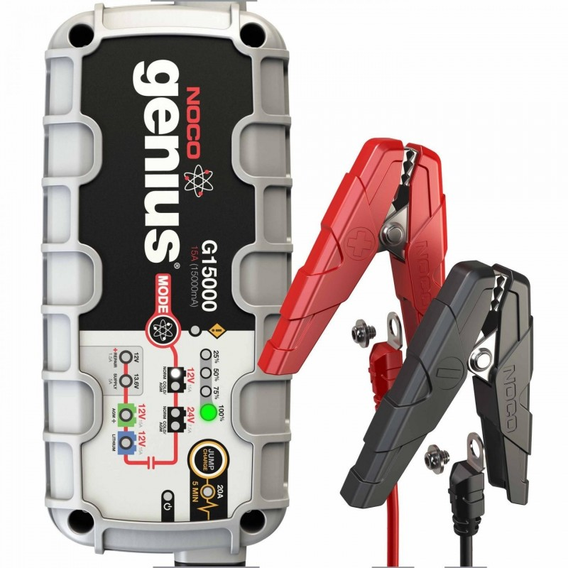 NOCO Company  UltraSafe Battery Charger with JumpCharge Engine Start (G15000)