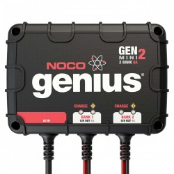 NOCO Company 2-Bank 8 Amp On-Board Battery Charger (GENM2)