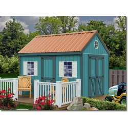Best Barns Regency 8x12 Wood Storage Shed Kit (Regency_812)