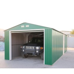 DuraMax 12x38 Imperial Steel Storage Garage Kit - Green (54951)