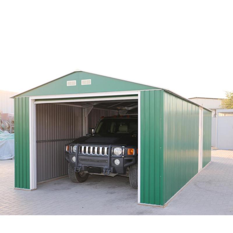 DuraMax 12x38 Imperial Steel Storage Garage Kit - Green (54951)