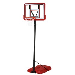 Lifetime 44in. Pro Court Shatterproof Fusion Portable Basketball Hoop - Red (90689)