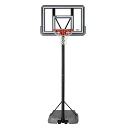 Lifetime 44in. Pro Court Shatterproof Fusion Portable Basketball Hoop - Silver (90690)