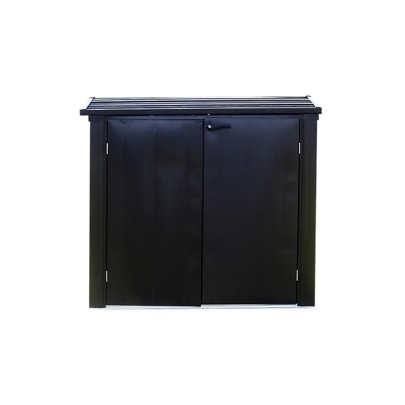 Arrow 5x3 Versa-Shed Locking Horizontal Storage Shelter - Onyx (EVRS53)