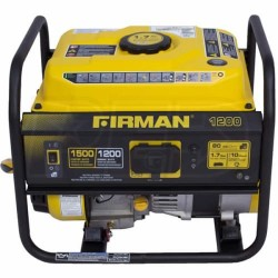 Firman Gas Powered 1200/1500 Watt Extended Run Time Portable Generator (P01201)