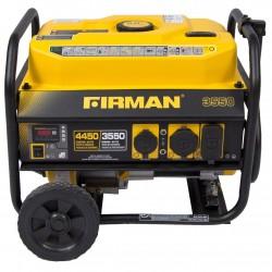 Firman Power Equipment Gas Powered 3550/4450 Watt Extended Run Time Portable Generator (P03501)