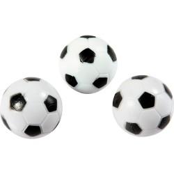 Soccer Ball Style Foosballs - 3-Pack (NG1024)