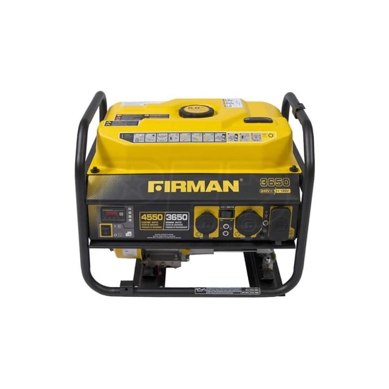 Firman Power Equipment Gas Powered 3650/4550 Watt Extended Run Time Portable Generator (P03606)
