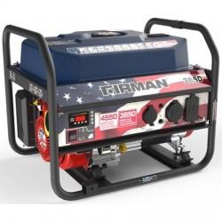 Firman Power Equipment Gas Powered 3650/4550 Watt Extended Run Time Portable Generator (P03611)