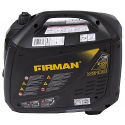 Firman Power Equipment Gas Powered 1700/2100 Watts Extended Run Time Portable Generator (W01781)
