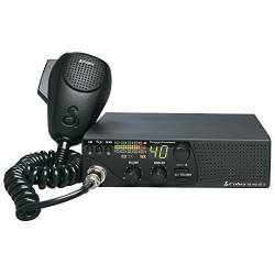 Cobra Compact CB Radio with Weather and Soundtracker (18 WX ST II)