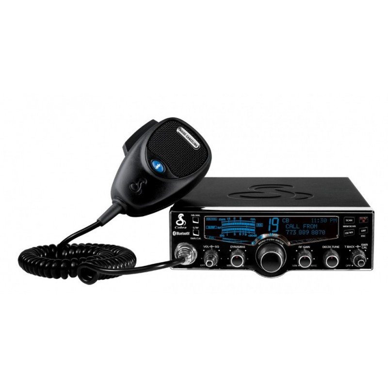 Cobra 4-Color LCD Professional CB Radio with Bluetooth, Weather and Night Watch (29 LX BT)
