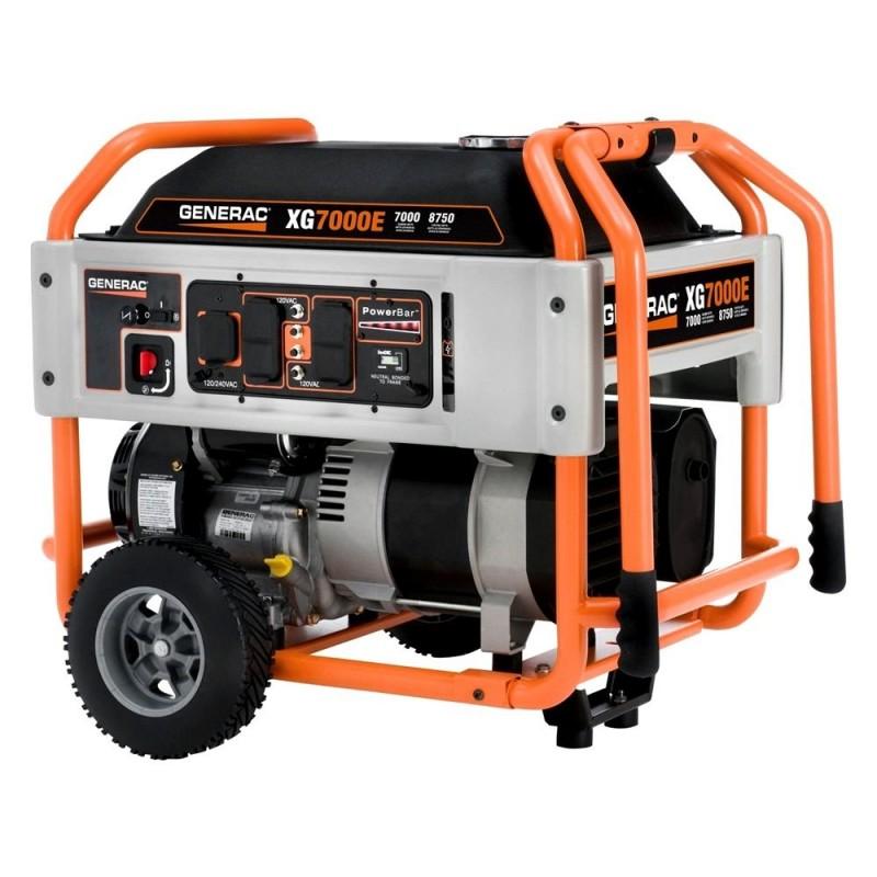 Generac XG Series 7 kW Electric-Manual Start Portable Generator (5798)