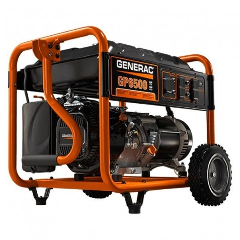 Generac GP Series 6,5 kW Manual Start Portable Generator (5940)