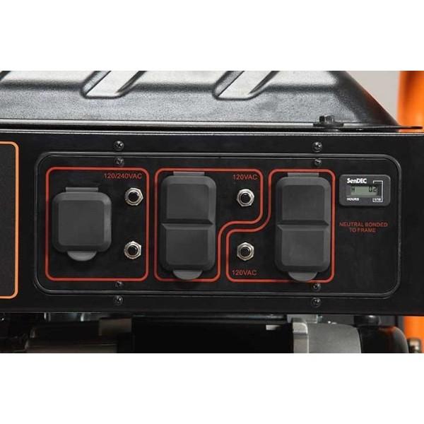I Have An Onan Generator In My Rv It Is Model 6 5: Generac GP Series 6,5 KW Manual Start Portable Generator