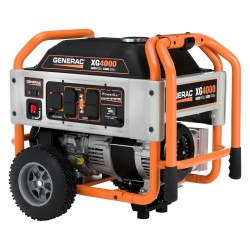 Generac XG Series 4 kW Manual Start Portable Generator (5844)