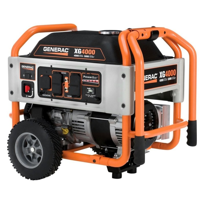 Generac XG Series 4 kW Manual Start Portable Generator (5844)