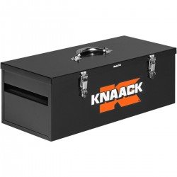 Knaack Hand Tool Box, 26 in, 1.5 cu ft - Black (743)