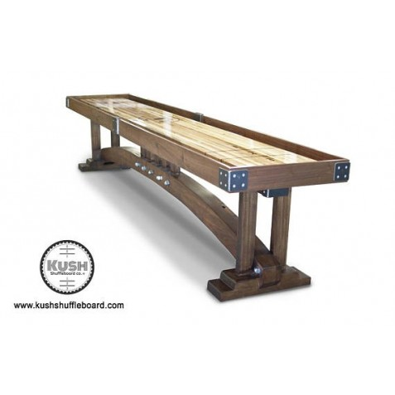 Kush 12ft Craftsman Shuffleboard Table (022)