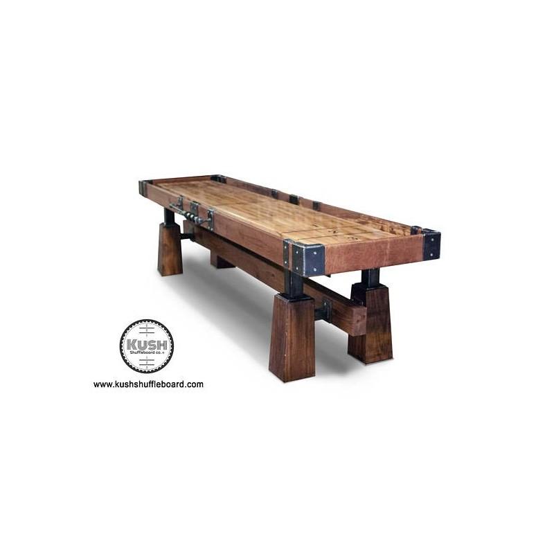 Kush 12ft Rustic Shuffleboard Table (032)
