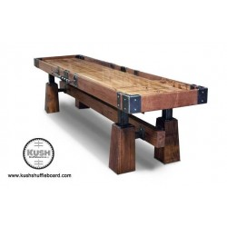 Kush 14ft Rustic Shuffleboard Table (033)