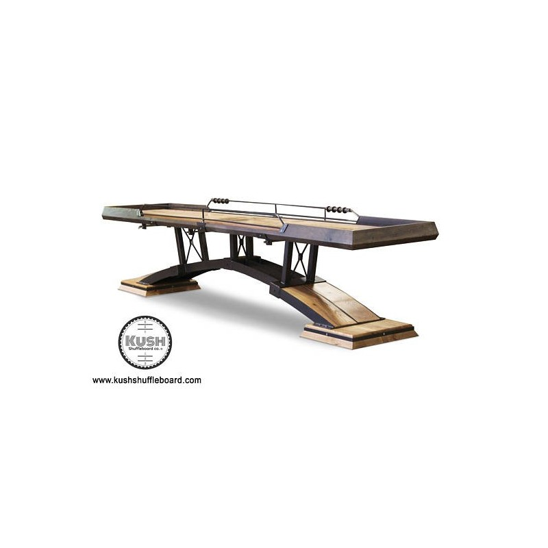 Kush 12ft Kirsch Shuffleboard Table (052)
