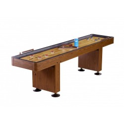 Challenger 9 Ft. Shuffleboard – Walnut Finish (NG1205)