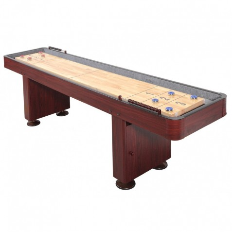 Challenger 9 Ft. Shuffleboard – Dark Cherry Finish (NG1210)