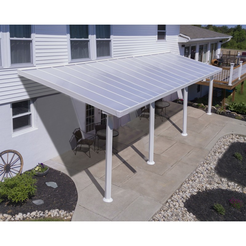 Palram 10x30 Gala Patio Cover Kit - White (HG9390)