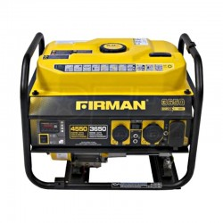 Firman Power Equipment Gas Powered 3650/4550 Watt Extended Run Time Portable Generator (P03604)