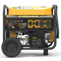 Firman Power Equipment Gas Powered 5700/7125 Remote Start Portable Generator (P05702)