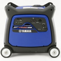 Yamaha 4500 Watt 120V 37.5 AMP Inverter Generator with Electric Start, Noise Block, Oil Warning System (EF4500iSE