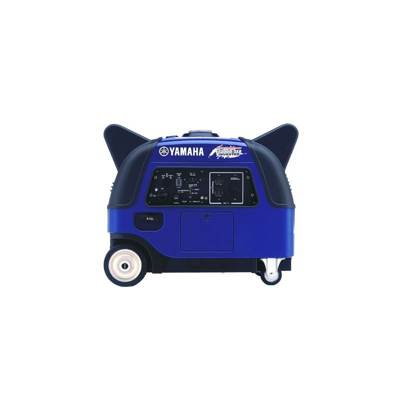 Yamaha 3000 Watt 120V 25 AMP Portable Inverter Generator with 500W Boost, Electric Start, Noise Block (EF3000iSEB)