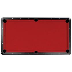Championship Saturn II Billiards Cloth Pool Table Felt - 8 Ft. - Red (NG263RD)