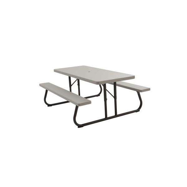 Lifetime 10 Pack 6 Ft Plastic Folding Picnic Tables 82119