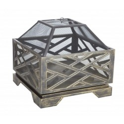 Fire Sense Catalano Square Fire Pit (62239)