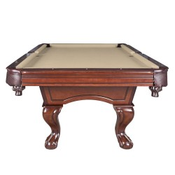 Augusta 8-ft Non-Slate Pool Table - Walnut Finish (NG2670)