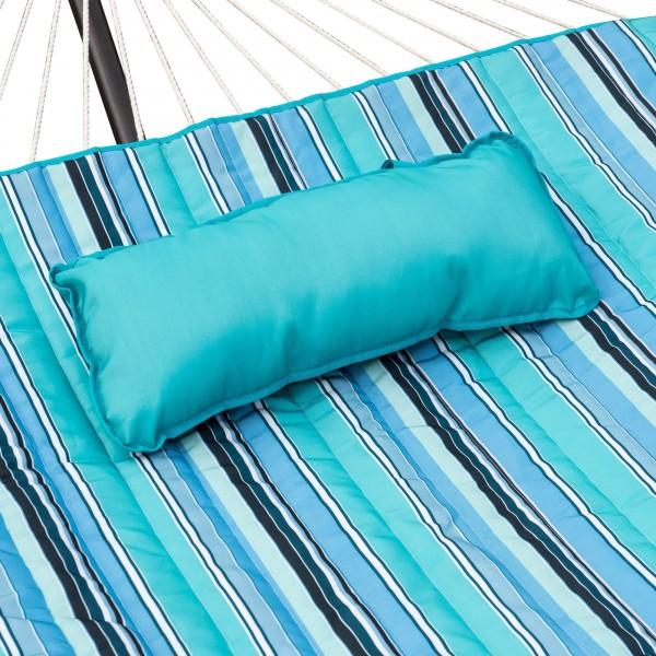 Island Retreat Hammock Pillow Amp Pad Set Stripped Blue
