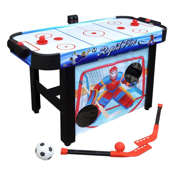 Blue Wave Rapid Fire 42-in 3-in-1 Air Hockey Multi-Game ...