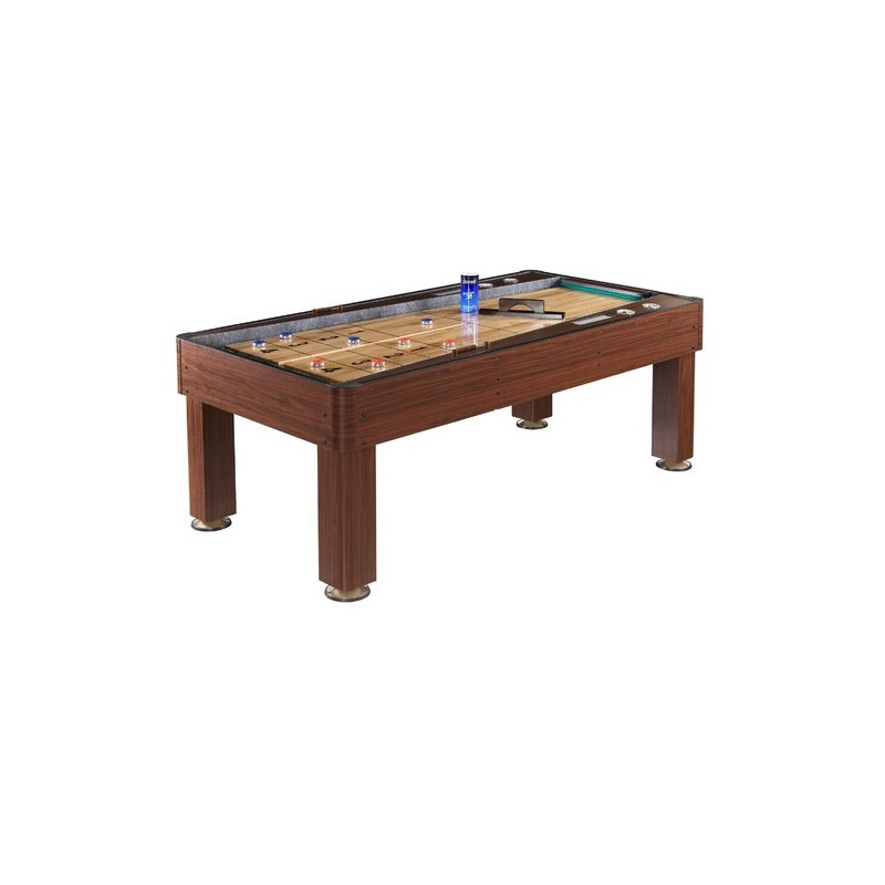 Ricochet 7 Ft. Bounce-Back Shuffleboard Table (NG1201)