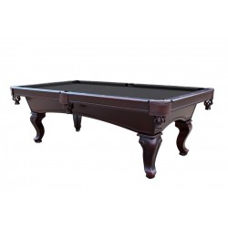Monterey 8' Slate Pool Table With Black Felt (NG2585BK)