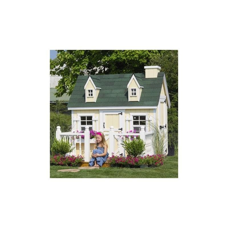 Little Cottage Company Cape Cod 4x6 Playhouse Kit (4XGCCPWPNK)