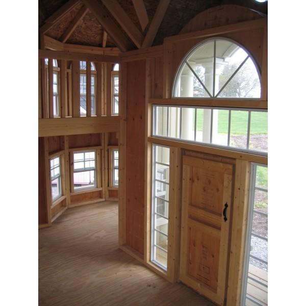 Little Cottage Company Grand Portico Mansion 10x16