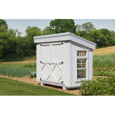 Little Cottage Company Petite Greenhouse with Floor Kit (58LCPGWPNK)