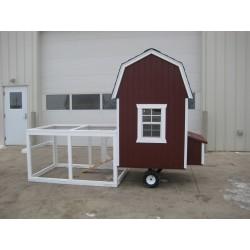 Little Cottage Company Gambrel Barn Run Coop 4x4 Panelized Kit (4x4 CGRC-WPNK)