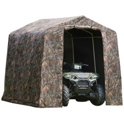 Shelter Logic 8x8 Peak Camouflage Shed-in-a-Box Shed Kit (70198)