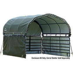 ShelterLogic Enclosure Kit 12x12 for Corral Shelter - Green (51482)