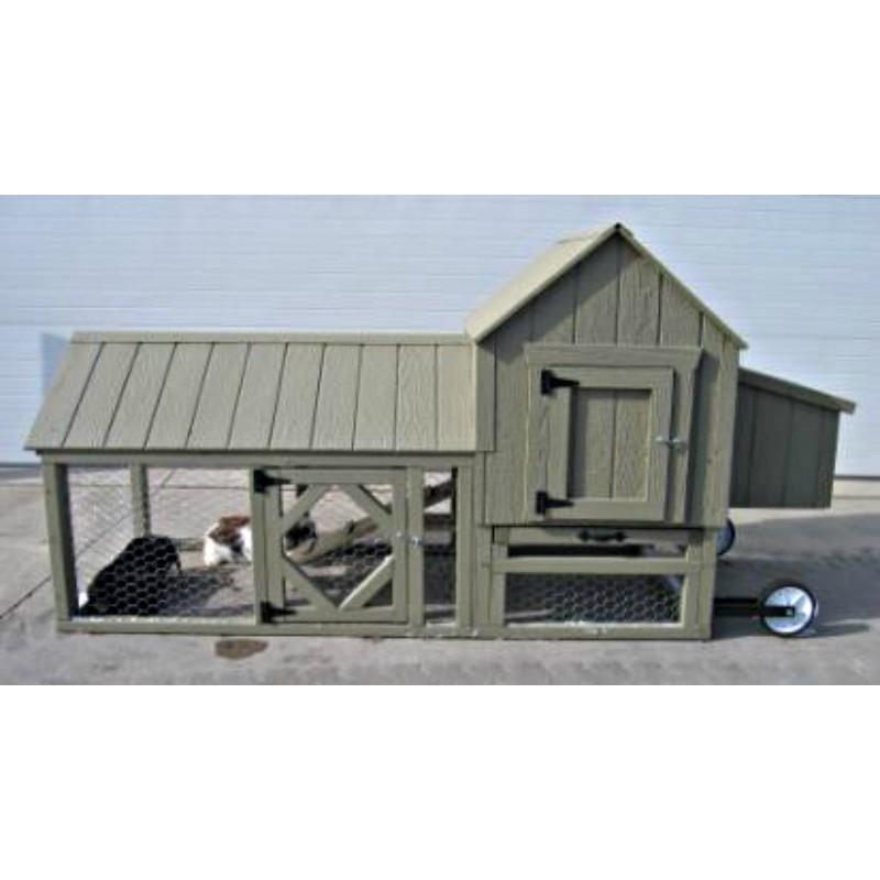 Little Cottage Company Berlin Coop Panelized Kit (BERLIN CCOOP-WPNK)