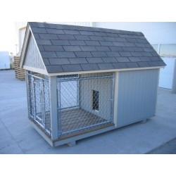 Little Cottage Company Junior Dog Kennel Panelized Kit (4x8 JDK-PK)