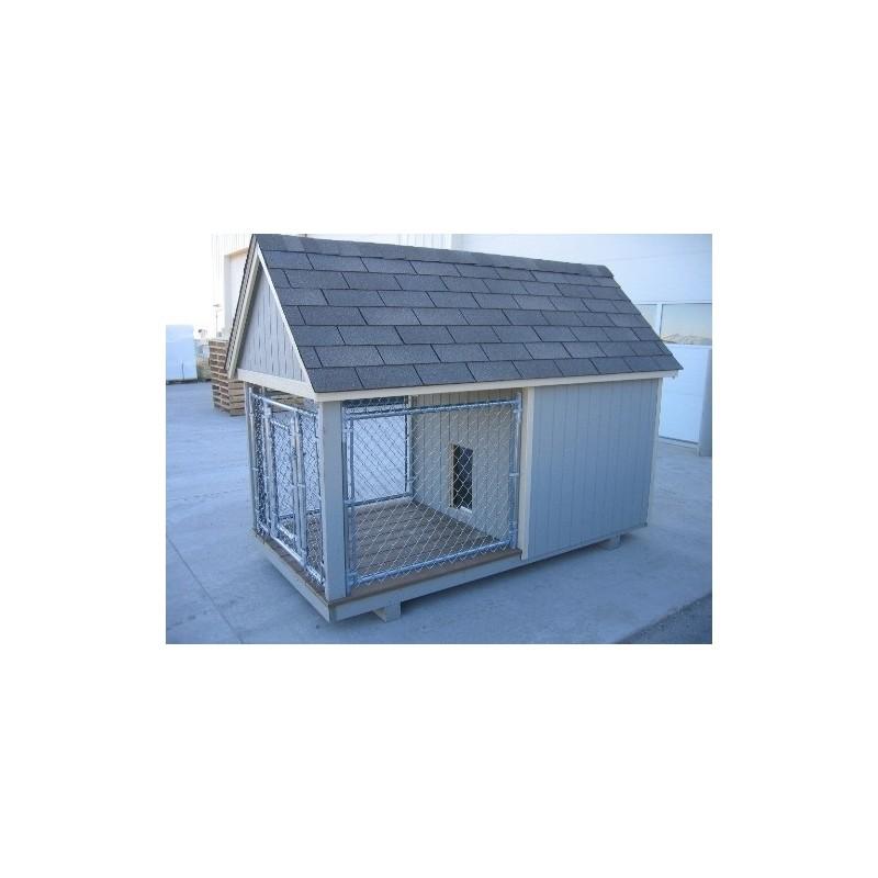 Little Cottage Company Junior Dog Kennel Panelized Kit (4x8 JDK-PK)